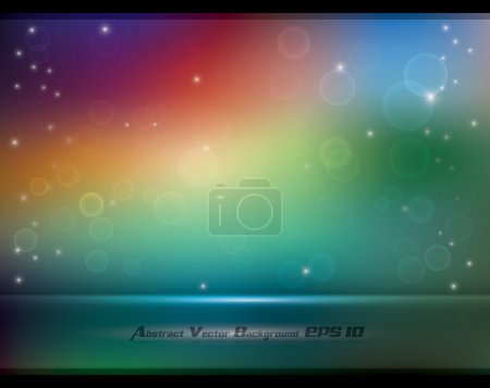 Abstract colorful soft background with bokeh