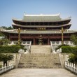 The main temple of Southern Shaolin Monastery in C...