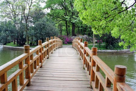 Landscape of chinese park