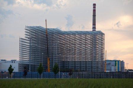Big warehouse steel construction