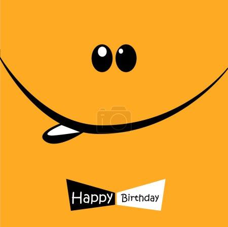 Happy Birthday Smile tie