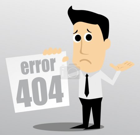 Photo for 404 error - Royalty Free Image