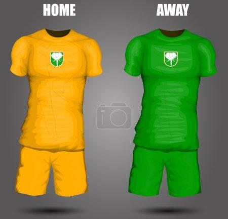 Ivory Coast soccer jersey