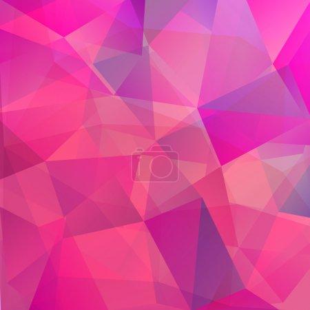 Illustration pour Modèle géométrique de fond. Thème été ou printemps. Bannière mosaïque colorée. Fond géométrique avec place pour votre texte. Contexte abstrait pour le design - image libre de droit