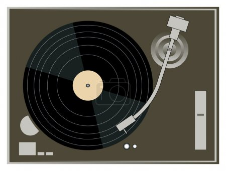 DJ Turntable Graphics