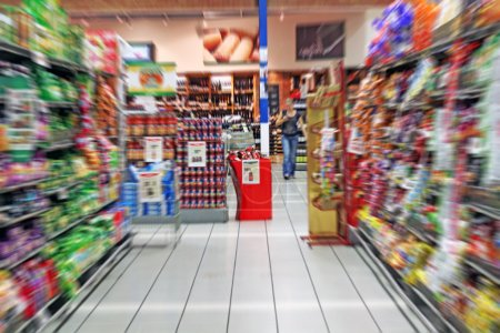 Colorful Grocery Store