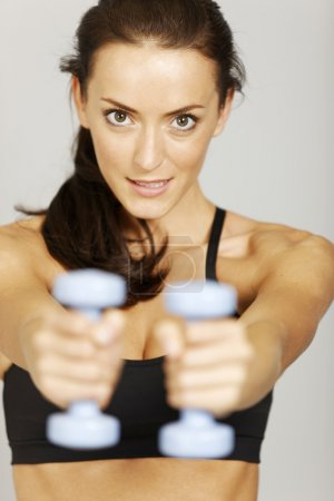 Woman in fitness