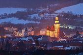Small European Town.