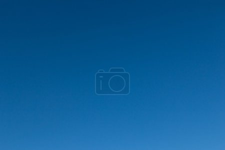 Plain background of blue sky