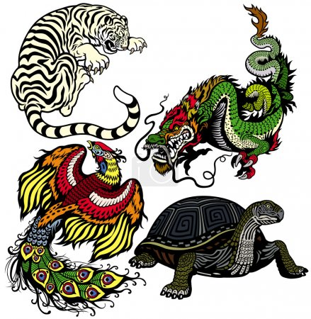 Celestial feng shui animals