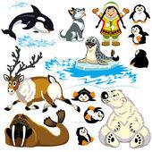 Sada s karikatura Arktida