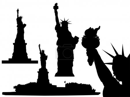 Statue of Liberty - vector...