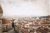 Florence, image in old color style