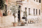 artwork in vintage style, Venice
