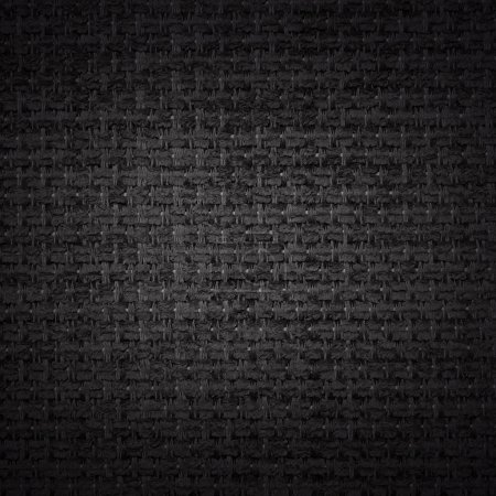 Black fabric background or texture