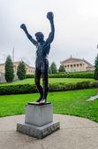 Rocky Statue in Philadelphia