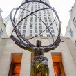 Постер, плакат: Atlas Statue in the Rockefeller Center