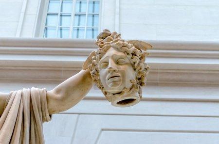 Photo for Head of Medusa, Metropolitan Museum of Art, New York - Royalty Free Image