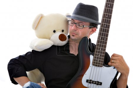 Bassist and toy band