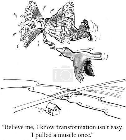 """Photo pour """"Crois-moi, je sais que la transformation n'est pas facile ."""" - image libre de droit"""