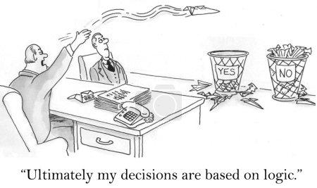 """Photo pour """"en fin de compte mes décisions sont basées sur la logique."""" - image libre de droit"""