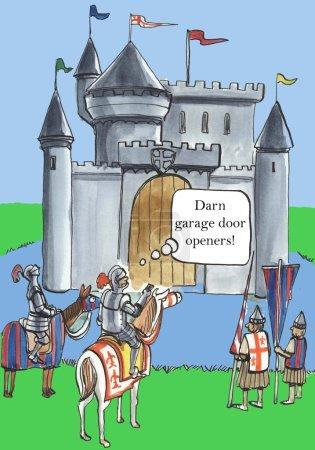 Darn garage door openers...