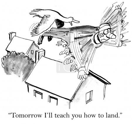 """Photo pour """"Demain, je t'apprendrai à atterrir. ."""" - image libre de droit"""