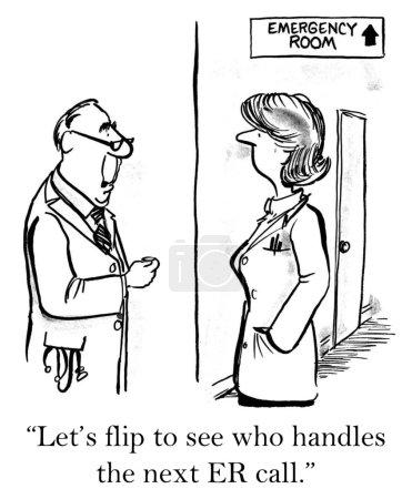 Dispute between two doctors