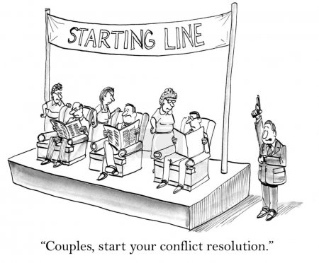Conflict competition among couples