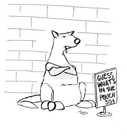 Business kangaroo
