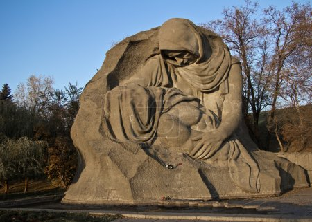 Part of the memorial complex at Mamaev burial in V...