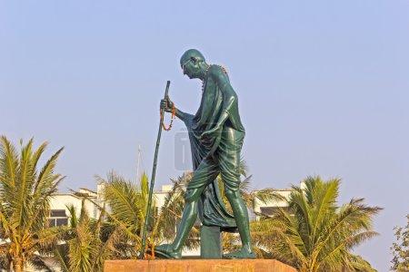 Munument of Mahatma Gandhi in