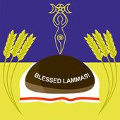 Lammas or Lughnasadh greeting card
