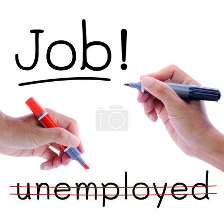 Need job not unemployed
