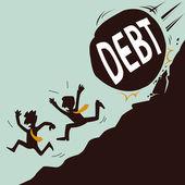 Big debt threatening