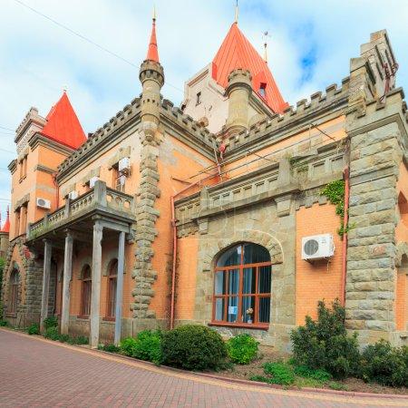 Cape Plaka. Palace of Princess Gagarin...