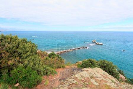 A view in Cape Plaka, Crimea. Ukraine.Russia...