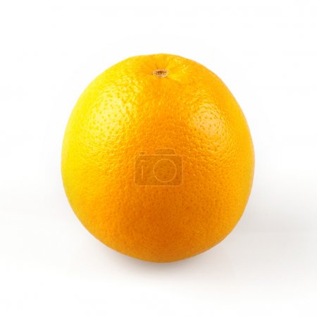 Photo for Ripe oranges and white background - Royalty Free Image