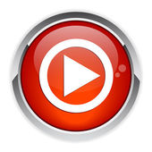 Bouton Flash Games Internet lecture red icon