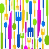 Cucina colorato logo icona