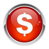 Bouton internet argent finance red