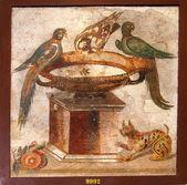 "Постер, картина, фотообои ""Древняя мозаика из Помпеи"""