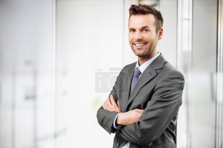 Photo for Businessman portrait - Royalty Free Image