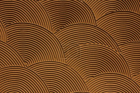 Background of brown material