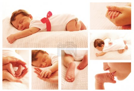 Photo for A one cute little newborn baby - Royalty Free Image