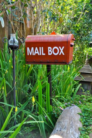 Photo for A Rural Mail Box or RMB is an artificial address that is created by Australia Post to deliver mail to a rural or remote location. - Royalty Free Image