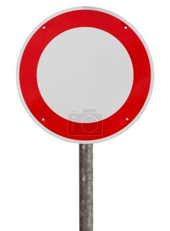 kein Verkehrszeichen für Fahrzeuge