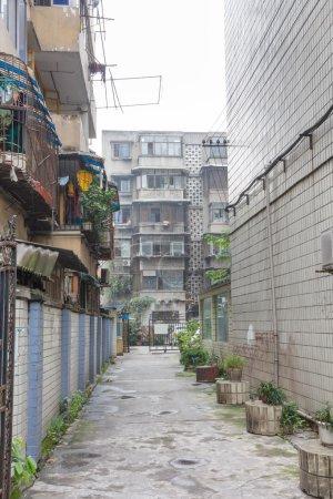 ruelle à chengdu, Chine