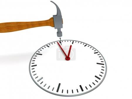 Photo for Stop the time - metaphorical image concerning stress - Royalty Free Image