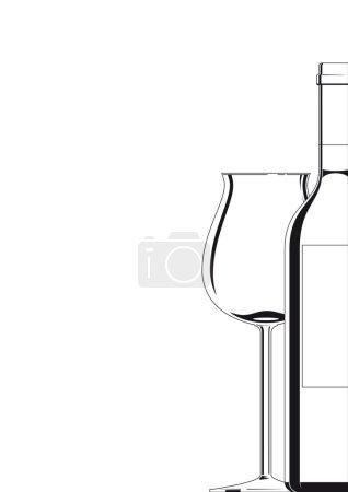 Bottle an Glass